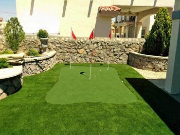 Artificial Grass Photos: Golf Putting Greens Astatula Florida Artificial Grass  Front