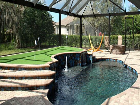 Artificial Grass Photos: Putting Greens Zephyrhills Florida Synthetic Grass  Front